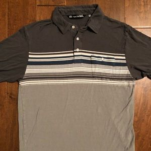 Travis Mathew Stripe Polo